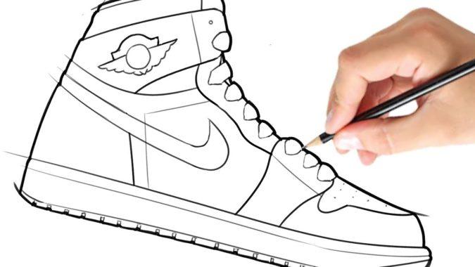 Shoe-675x380 Top 10 Coolest Unique Drawing Ideas for Teens