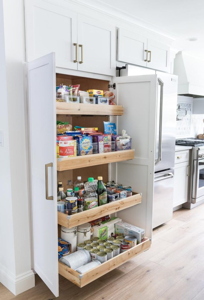 Storing-everything-1-675x993 100+ Smartest Storage Ideas for Small Kitchens in 2021