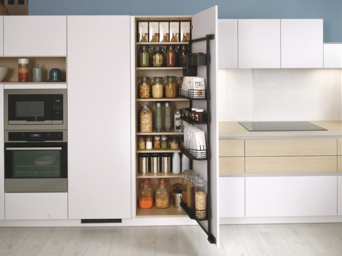 Storing-everything-2-675x506 100+ Smartest Storage Ideas for Small Kitchens in 2021