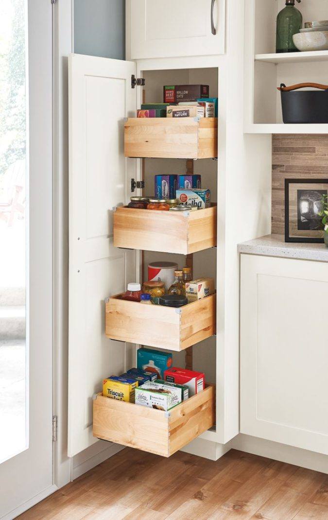 Storing-everything.-675x1070 100+ Smartest Storage Ideas for Small Kitchens in 2021