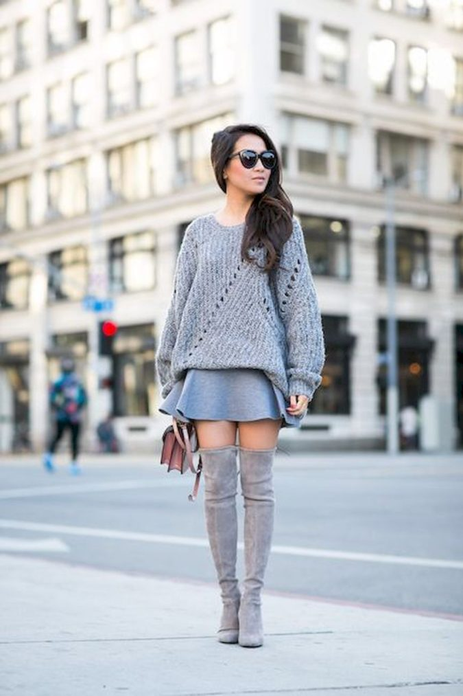 Sweater-with-skirt.-5-675x1013 140 First-Date Outfit Ideas That Make You Special