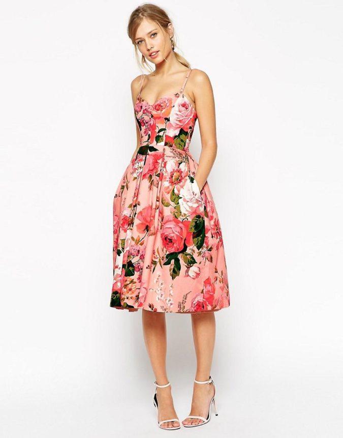The-rose-design-dress-675x861 120 Splendid Women's Outfits for Evening Weddings