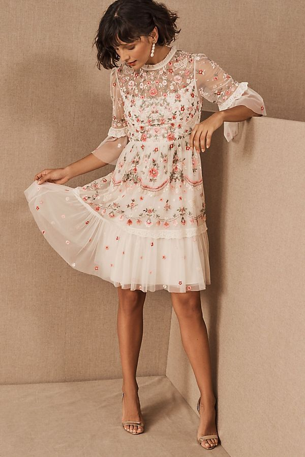 The-rose-design-dress.-1 120 Splendid Women's Outfits for Evening Weddings