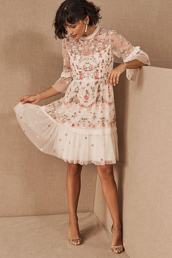 The-rose-design-dress.-1 120 Splendid Women's Outfits for Evening Weddings