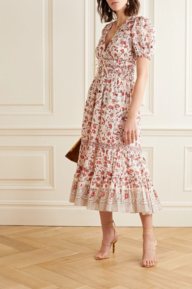 The-rose-design-dress.-2-675x1013 120 Splendid Women's Outfits for Evening Weddings