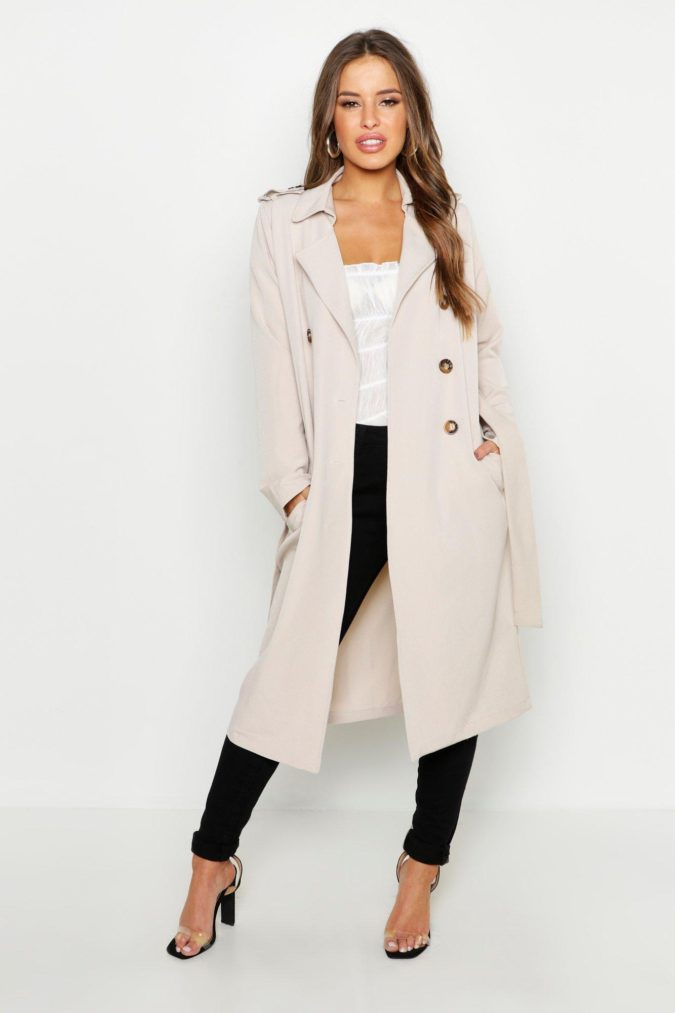 Trench-coat-675x1013 140+ Lovely Women's Outfit Ideas for Winter 2020 / 2021