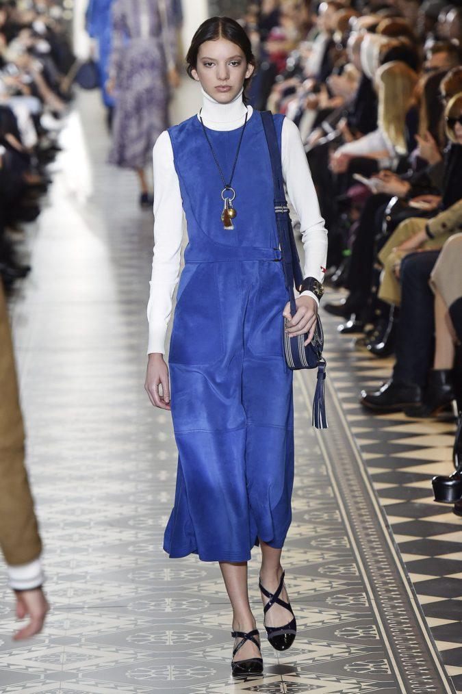 Turtlenecks-under-dresses-1-675x1014 140+ Lovely Women's Outfit Ideas for Winter 2020 / 2021
