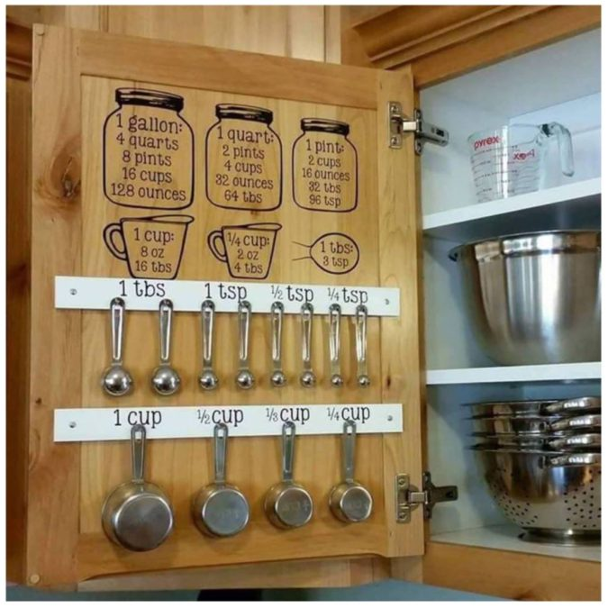 Using-cabinet-doors--675x675 100+ Smartest Storage Ideas for Small Kitchens in 2021