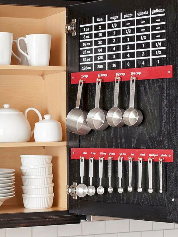Using-cabinet-doors.-675x899 100+ Smartest Storage Ideas for Small Kitchens in 2021
