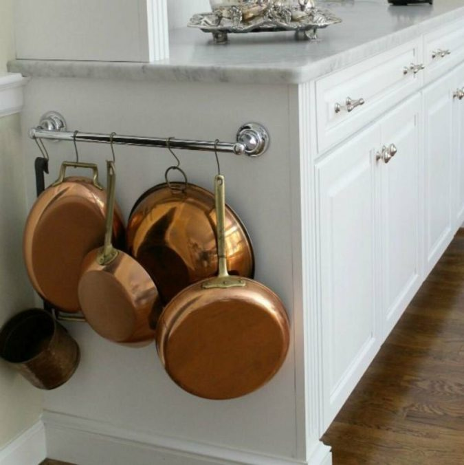Using-forgotten-space.-675x676 100+ Smartest Storage Ideas for Small Kitchens in 2021
