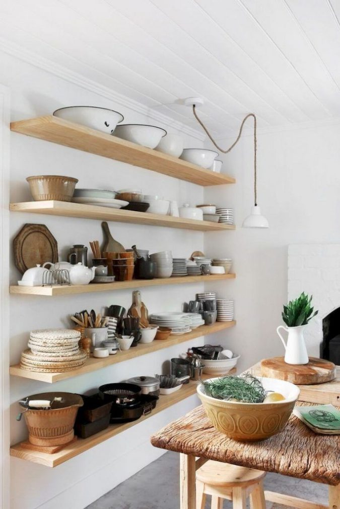Using-shelves-.-1-675x1012 100+ Smartest Storage Ideas for Small Kitchens in 2021