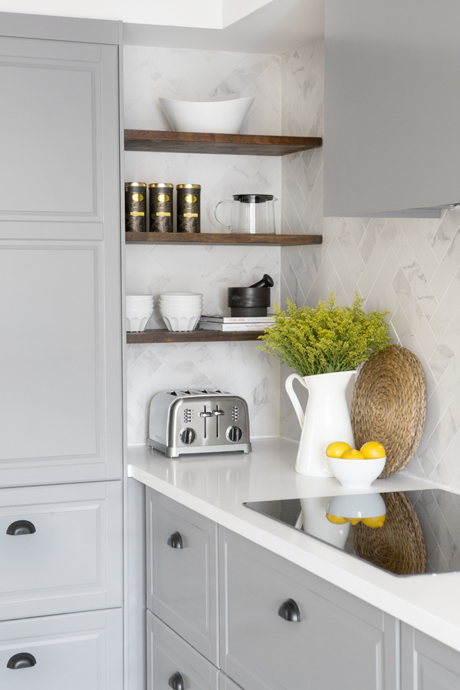 Using-shelves-1 100+ Smartest Storage Ideas for Small Kitchens in 2021