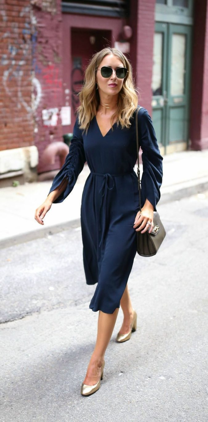 V-neck-midi-dress.-675x1368 140 First-Date Outfit Ideas That Make You Special