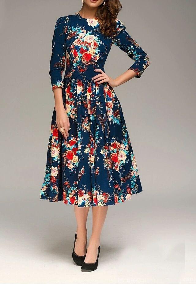 Vintage-dress-1 120 Splendid Women's Outfits for Evening Weddings