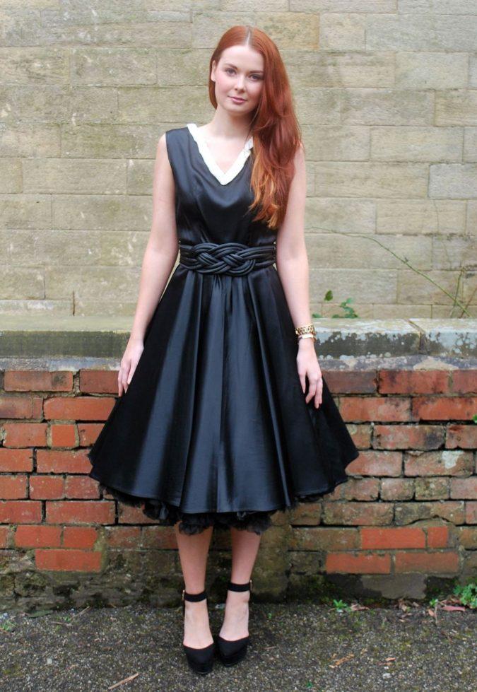 Vintage-dress-4-675x979 120 Splendid Women's Outfits for Evening Weddings