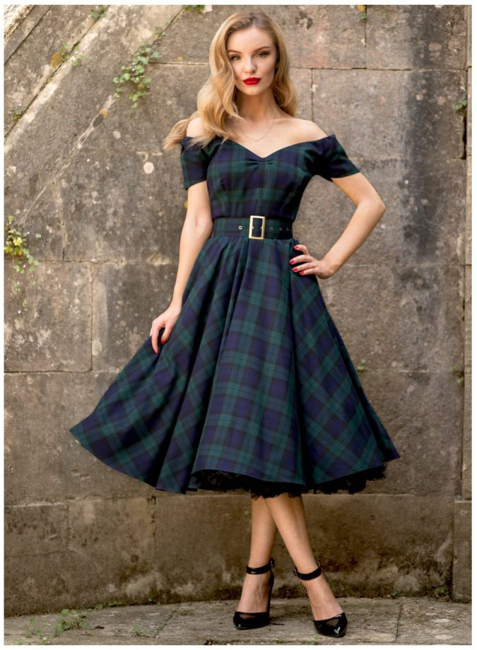 Vintage-dress-675x920 120 Splendid Women's Outfits for Evening Weddings