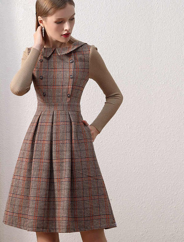 Vintage-dress.. 120 Splendid Women's Outfits for Evening Weddings