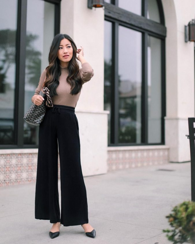 Wide-leg-pants.-4-675x844 140 First-Date Outfit Ideas That Make You Special