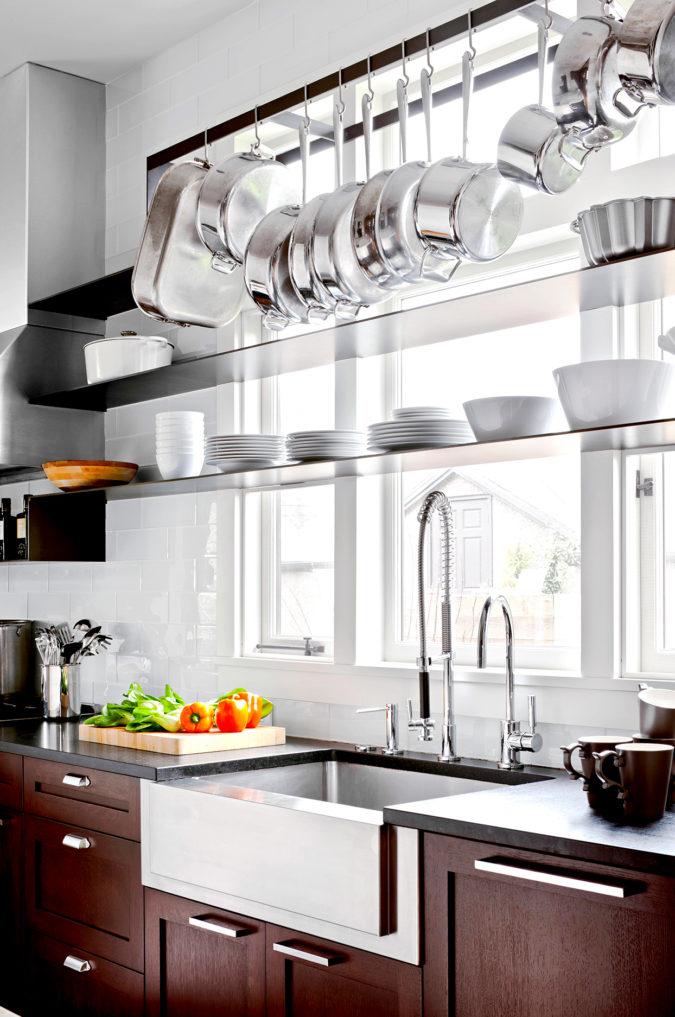Window-storage-strategy.-675x1017 100+ Smartest Storage Ideas for Small Kitchens in 2021