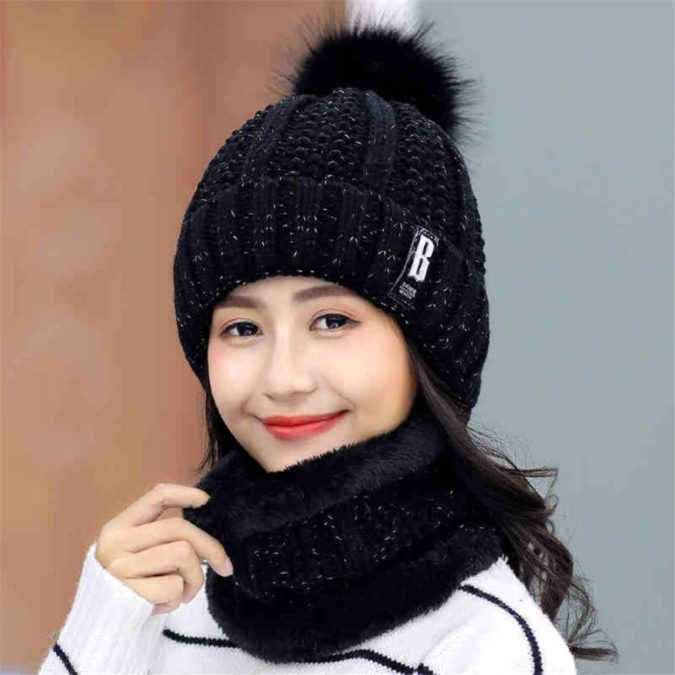 Winter-cap-1-675x675 140+ Lovely Women's Outfit Ideas for Winter 2020 / 2021
