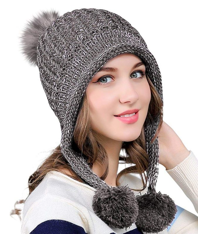 Winter-cap..-675x798 140+ Lovely Women's Outfit Ideas for Winter 2020 / 2021