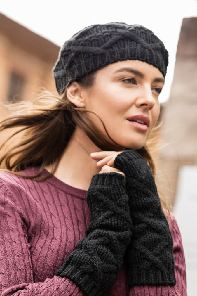 Winter-hat-1-675x1013 140+ Lovely Women's Outfit Ideas for Winter in 2021