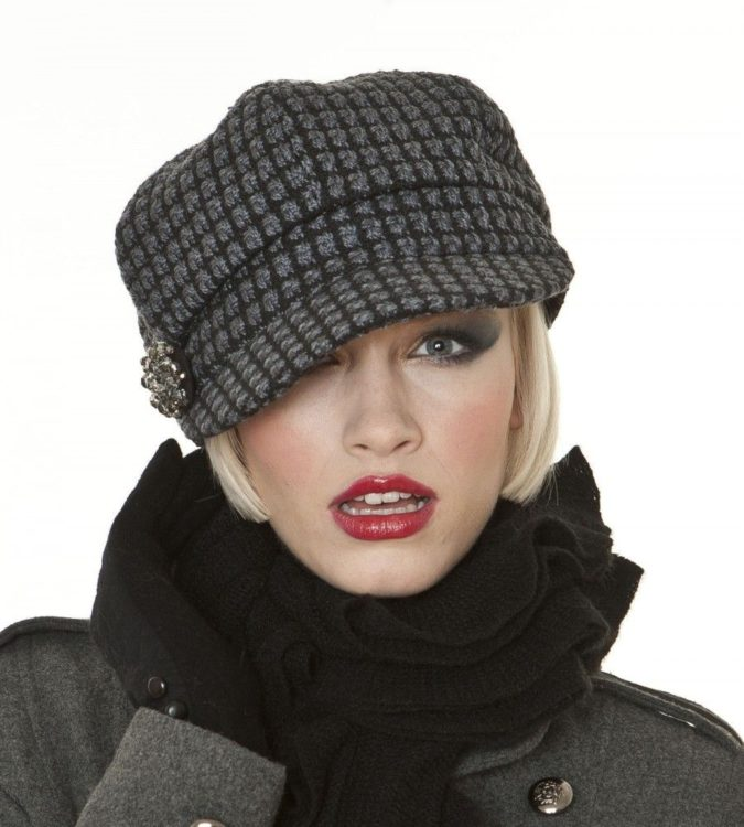 Winter-hat-675x750 140+ Lovely Women's Outfit Ideas for Winter in 2021