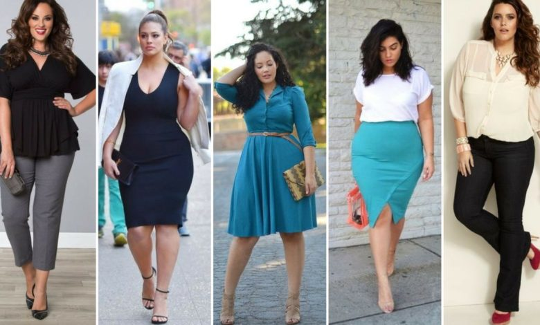 Photo of 115+ Elegant Work Outfit Ideas for Plus Size Ladies