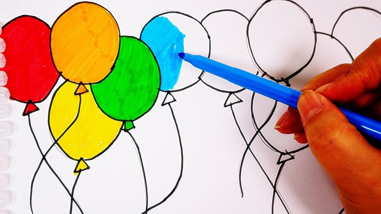 balloons Top 10 Coolest Unique Drawing Ideas for Teens