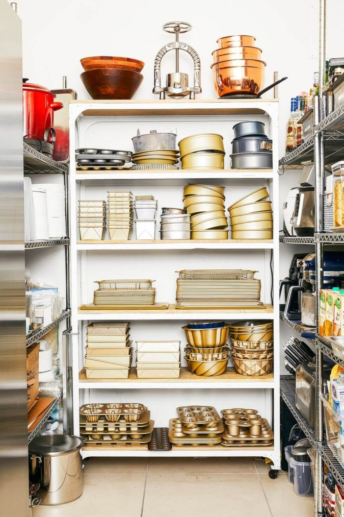closet.-675x1013 100+ Smartest Storage Ideas for Small Kitchens in 2021