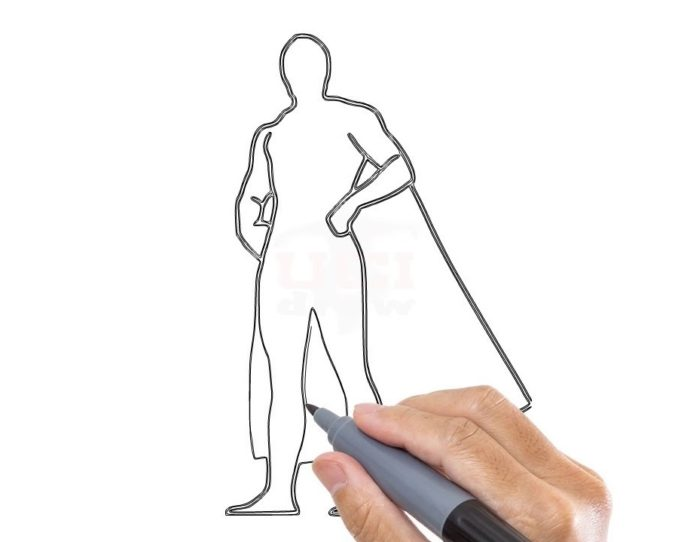 draw-yourself-as-a-hero.-675x542 Top 10 Coolest Unique Drawing Ideas for Teens