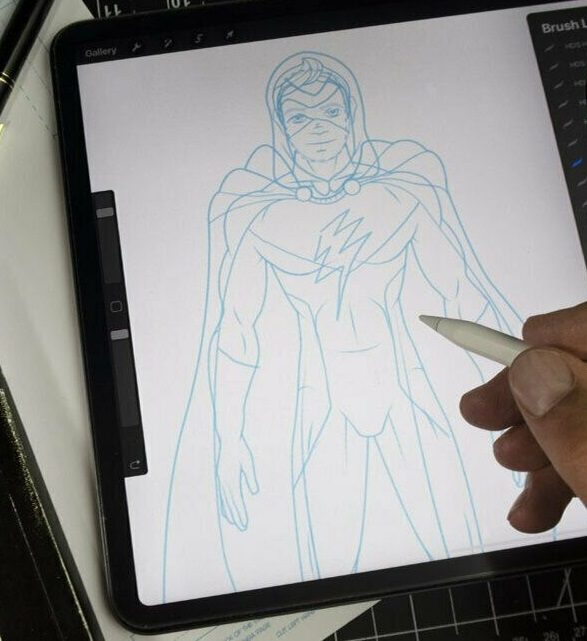 draw-yourself-as-a-hero Top 10 Coolest Unique Drawing Ideas for Teens