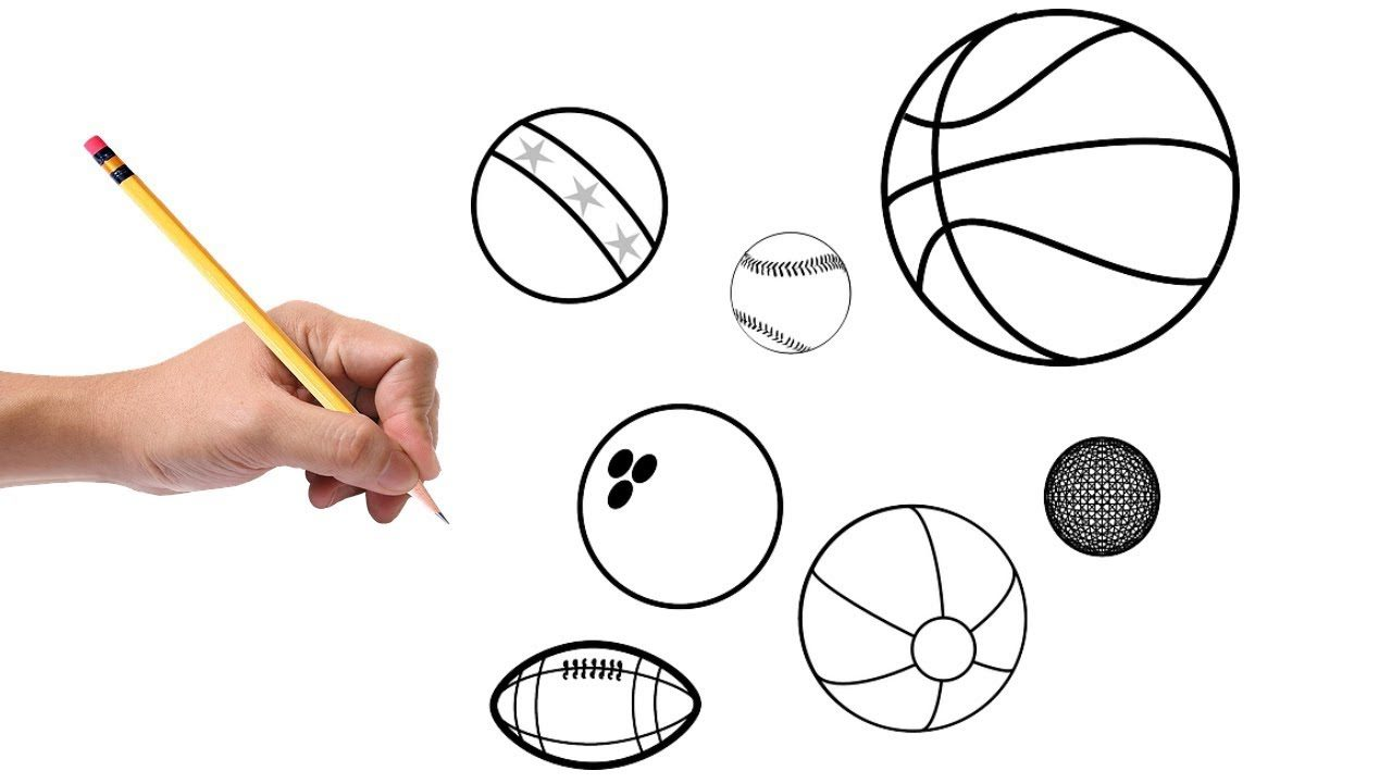drawing-a-ball-1-e1602431485310 Top 10 Easiest Things to Draw