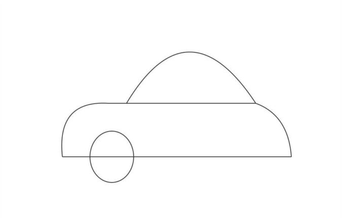 drawing-a-car-1-675x439 Top 10 Easiest Things to Draw