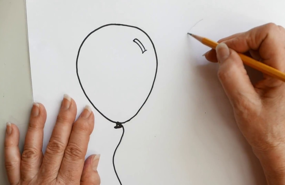 drawing-balloons Top 10 Coolest Unique Drawing Ideas for Teens