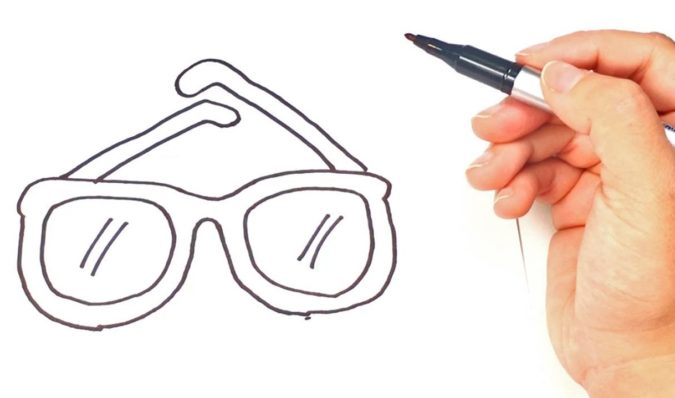 glasses-675x398 Top 10 Coolest Unique Drawing Ideas for Teens
