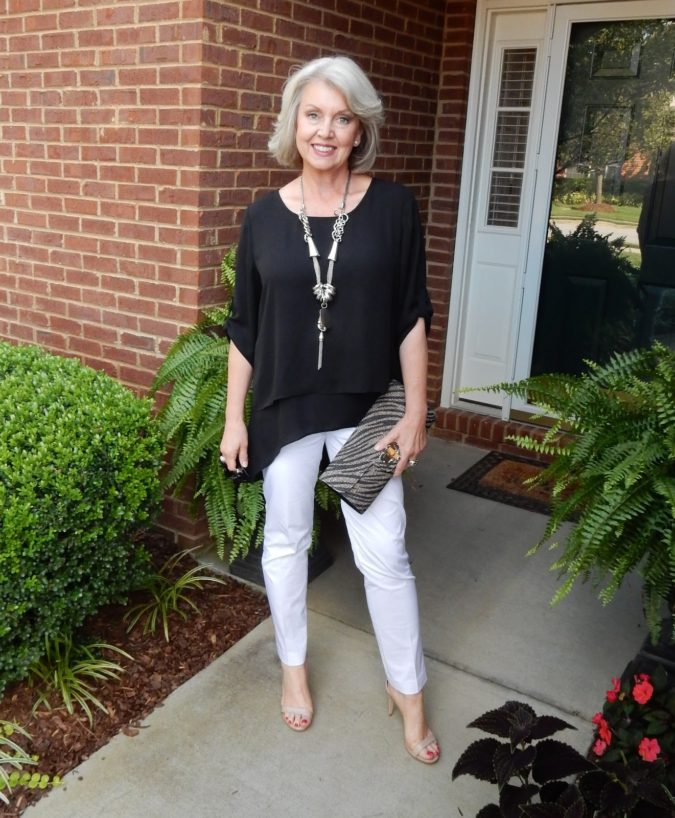 Chic-style.-4-675x818 110+ Elegant Outfit Ideas for Women Over 60