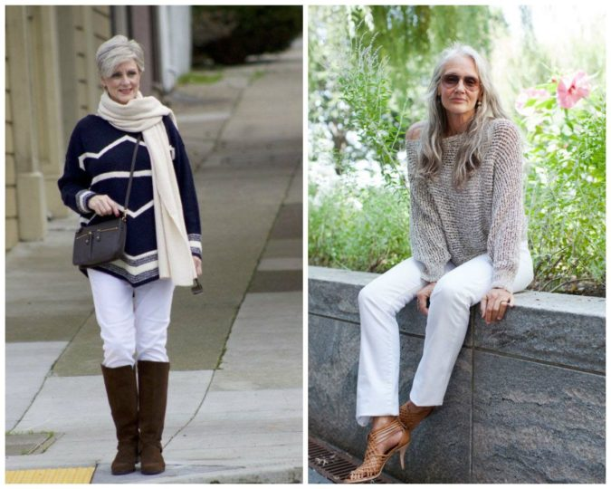 Classic-style-2-675x540 110+ Elegant Outfit Ideas for Women Over 60