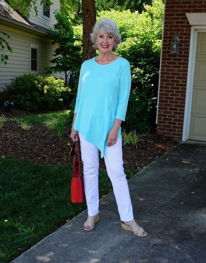 Classic-style..-1-675x860 110+ Elegant Outfit Ideas for Women Over 60