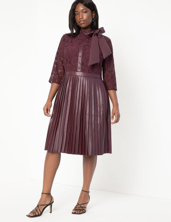 Colored-leather-675x878 70+ Stylish Plus-Size Fashion Trends in 2021