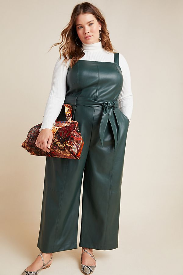 Colored-leather.. 70+ Stylish Plus-Size Fashion Trends in 2021