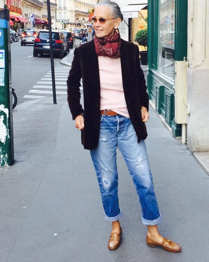 Cropped-jean-trousers.-675x844 80+ Fabulous Outfits for Women Over 50