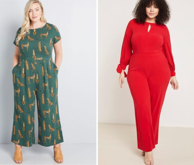 Cute-Jumpsuits-675x573 70+ Stylish Plus-Size Fashion Trends in 2021
