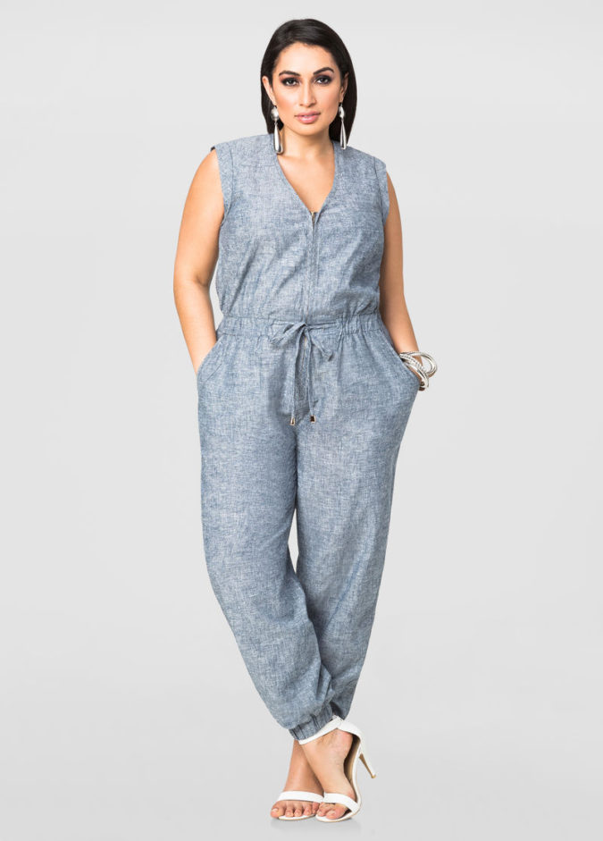 Cute-Jumpsuits..-675x941 70+ Stylish Plus-Size Fashion Trends in 2021