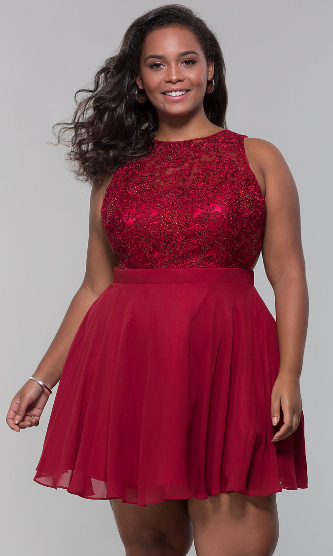 Evening-gown-1-675x1125 70+ Stylish Plus-Size Fashion Trends in 2021