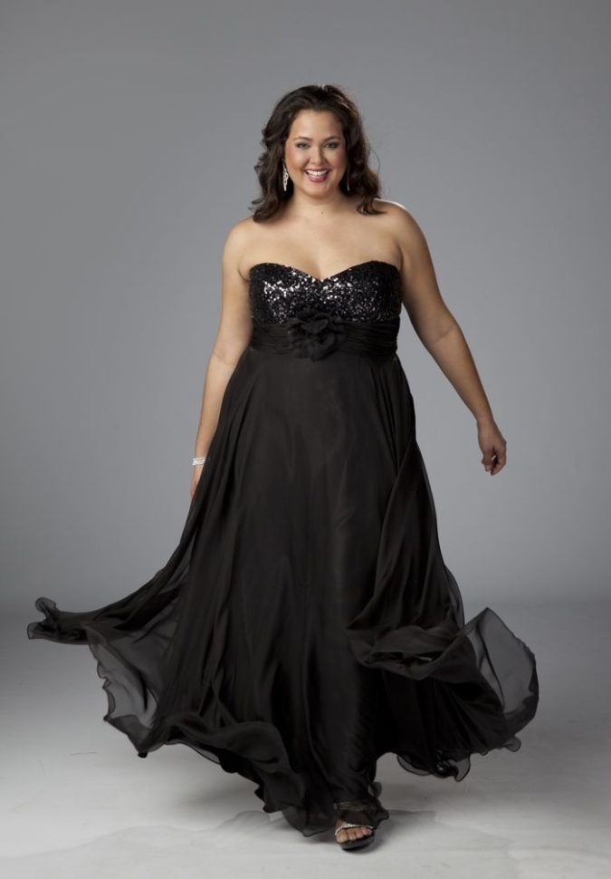 Evening-gown-2-675x970 70+ Stylish Plus-Size Fashion Trends in 2021