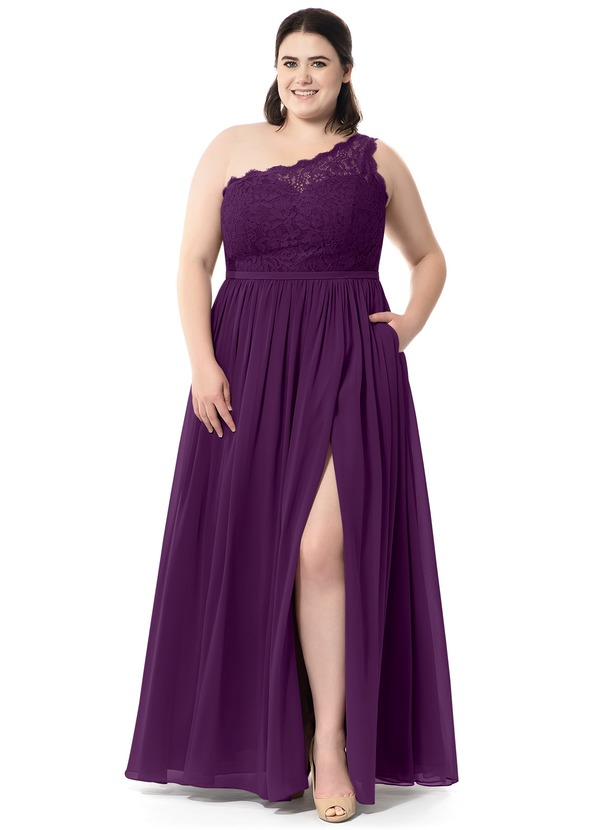 Evening-gown..-1 70+ Stylish Plus-Size Fashion Trends in 2021