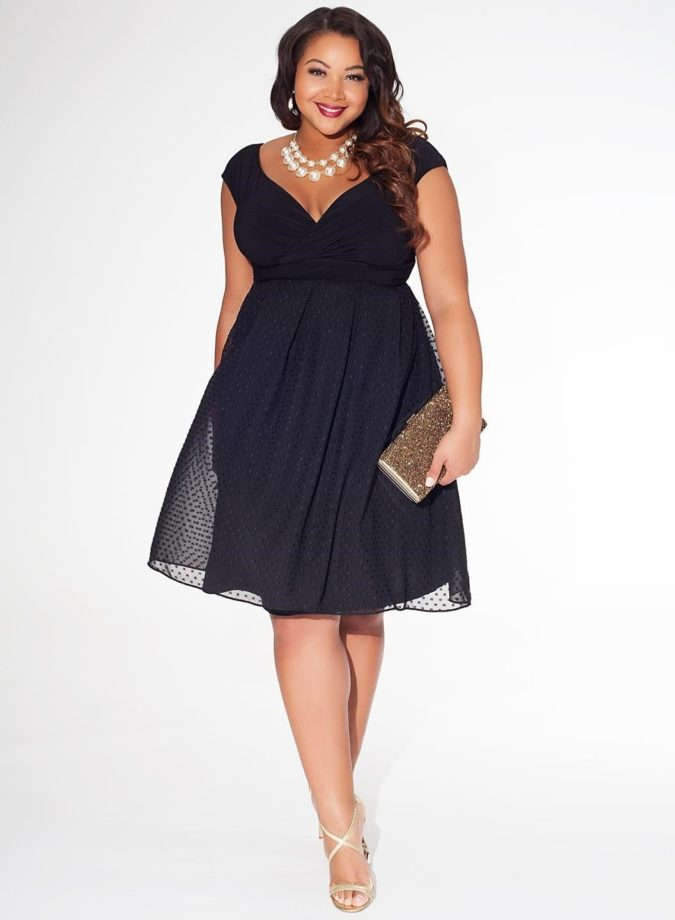 Evening-gown...-675x920 70+ Stylish Plus-Size Fashion Trends in 2021