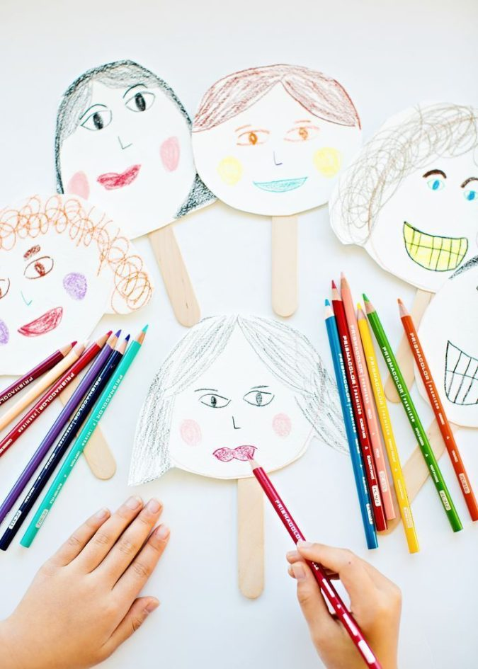 Facial-expressions-675x945 Top 10 Easiest Drawing Ideas for Kids