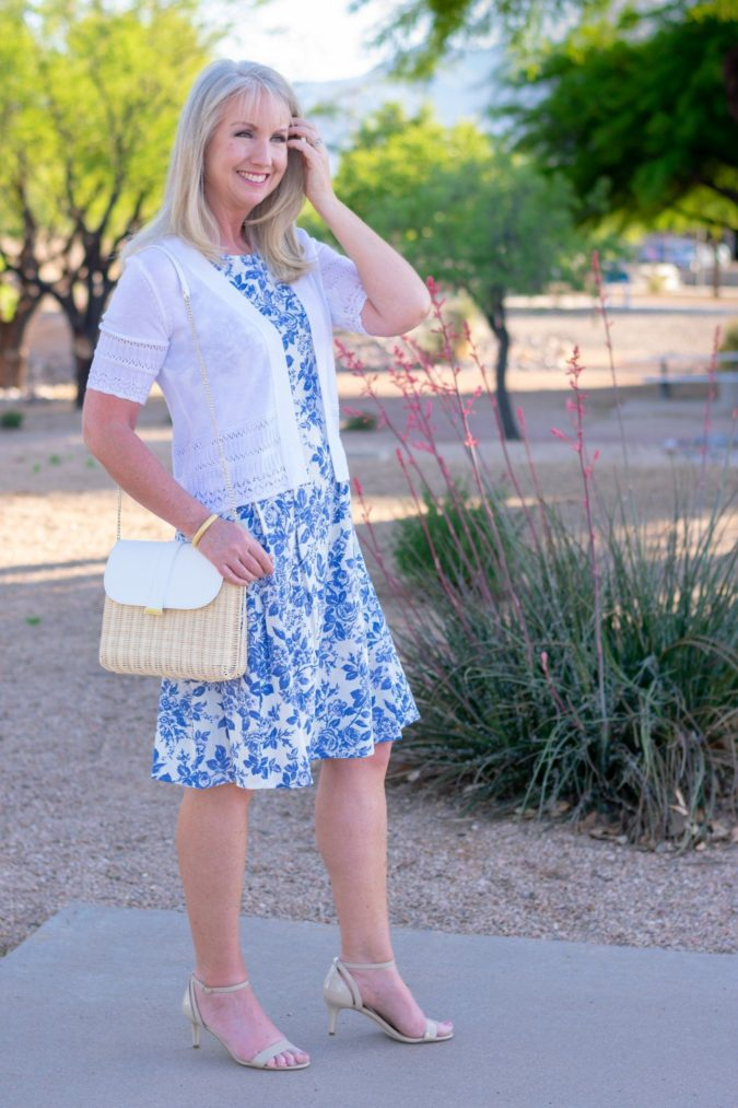 Fit-and-flare-dress..-675x1013 80+ Fabulous Outfits for Women Over 50